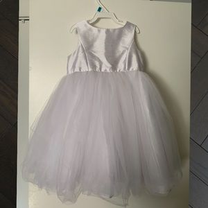 David's Bridal Flower Girl Dress with Tulle